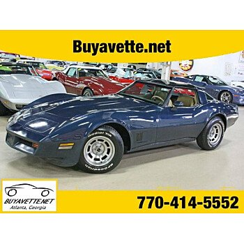 1981 Chevrolet Corvette Coupe for sale 100871894